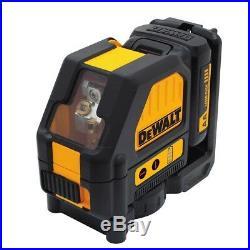 DEWALT DW088LR 12V Max Red Cross Line Laser Kit