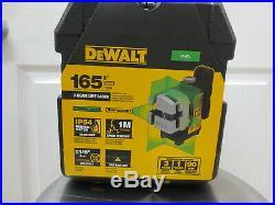 DEWALT DW089CG 3 Beam Line Self Leveling Green Laser DW089CG