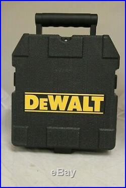 DEWALT DW089CG 3 Line Self Leveling Green Laser