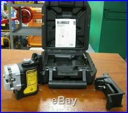 DEWALT DW089CG 3 Line Self Leveling Green Laser DEW-DW089CG OPEB BOX