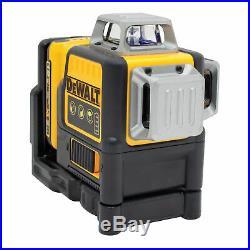 DEWALT DW089LG 12V MAX Li-Ion 3 X 360 Green Line Laser Kit