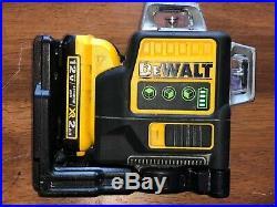 DEWALT DW089LG Green 3 Bean 3 X 360 Degree Laser