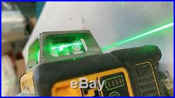 DEWALT DW089LG Green Line Laser 12V for parts with battery