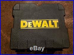 DEWALT Self-Leveling 360° Line Generator Laser Level DW0811