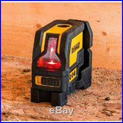 DeWALT Cross line Plus plumb Beam Combination Laser DW0822