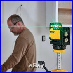 DeWALT DW03601CG 360-Degree Locking Penddulum Green Beam Cross Line Laser