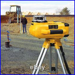 DeWALT DW079KDT 18-Volt Self-Leveling Rotary Laser Kit With Detector & Tripod
