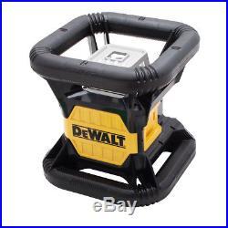 DeWALT DW079LG 20-Volt 2000-Foot Range Crodless Self-Leveling Green Rotary Laser