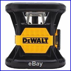 DeWALT DW079LG/20v MAX/2000-Foot Range/Self-Leveling/Green Rotary Laser