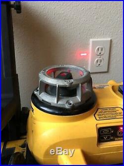 DeWALT DW079 18V Self Leveling Red Rotary Laser Level Kit Great Deal