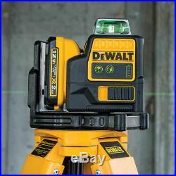 DeWALT DW0811LG 12-Volt 2 X 360 Green Beam Lithium-Ion Line Laser Level