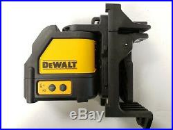 DeWALT DW088CG Self Leveling Green Cross Line Laser 165' Range Laser NEW