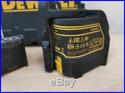 DeWALT DW088 (RED) Cordless Self Leveling Cross Line Laser Level AH 73101