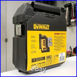 DeWALT DW089K Self Leveling 3 Beam Laser Chalk Cross Line Plus