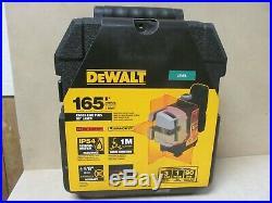 DeWALT DW089K Self Leveling 3 Beam Line Laser Level with Ceiling Mount in Case