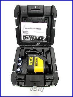 DeWALT Self Leveling Cross Line Laser Projects Vertical and Horizontal DW088K