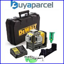 DeWalt DCE089D1G 10.8v 12v 3 Beam Self Levelling Green Cross Line Laser Level