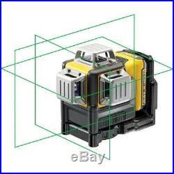 DeWalt DCE089D1G Self-Levelling Green Multi Line Laser 10.8V 1 x 2.0Ah Li-Ion