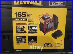 DeWalt DW0811LR 12V Red Self-Leveling 2 X 360 Degree Line Laser 150 ft