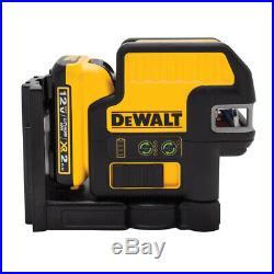 DeWalt DW0822LG 12 V 2 Spot Cross Line Green Laser