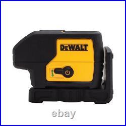 DeWalt DW083CG 100' Green Beam Brushless Motor 3-Spot Power Point Laser Level