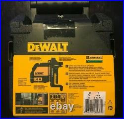 DeWalt DW088CG 165 ft. Green Self-Leveling Cross Line Laser Level with Case
