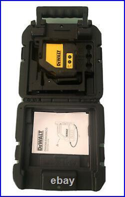 DeWalt DW088CG Green Cross Line Laser w Bracket 165 Kit New