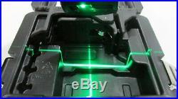DeWalt DW088CG Self Leveling Cross Line Laser 165' Range Green Laser Open Box