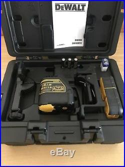 Receiver DeWalt DW088KD Cross Line Laser Level With Detector