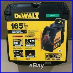 DeWalt DW088K Red Cross Line Laser w Bracket Brand New in Retail Box