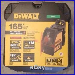 DeWalt DW088K Self Leveling Horizontal/Vertical Cross Line Laser Level NEW