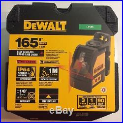 DeWalt DW088K Self Leveling Laser w Ceiling Bracket New in the Box