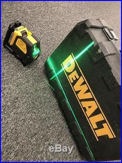 DeWalt DW088LG 12V Lithium-Ion Self-Leveling Green Cross Line Laser