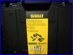 DeWalt DW088LG GREEN BEAM Cross Line Laser 12v Max 165FT Self Leveling