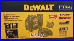 DeWalt DW088LR Red Cross Line laser 12v Compatible