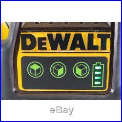 DeWalt DW089LG 12-Volt 100 ft. Green Self-Leveling 3-Beam 360 Degree Laser Level