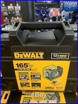 DeWalt DW089LG 3-Way 360 degree Green Laser New in the Box 12 volt Max