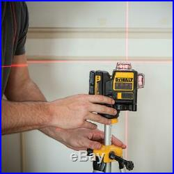 DeWalt DW089LR 12V 3 x 360 Degree Red Line Laser