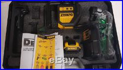 Dewalt DCE088D1G 10.8v Self Leveling Cross Line Green Laser 1x 2.0Ah Battery Kit
