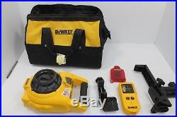 Dewalt DW074 Self-Leveling Interior and Exterior Rotary Laser Level L376779A-SKK