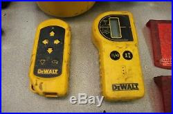 Dewalt DW077 18-Volt Self-Leveling Rotary Laser Level Interior/Exterior Kit