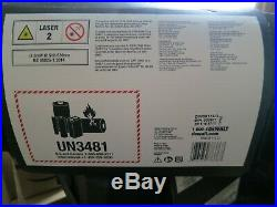 Dewalt DW0811LG OPEN BOX 12V Max 2 x 360 Degree Self-Leveling Line Laser Green