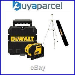Dewalt DW083K Self Levelling 3 Beam Dot Laser Pointer + Case, Tripod + Soft Bag