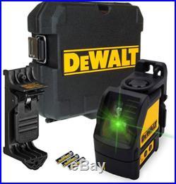 Dewalt DW088CG Green Cross Line Laser Level Self Inc Bracket Latest Model