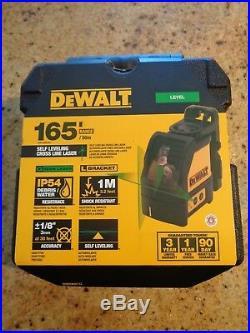 Dewalt DW088CG LEVEL Self Levelling Cross Line Laser