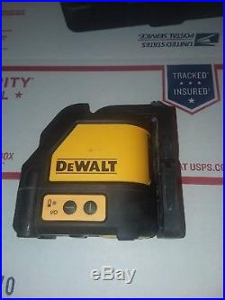 Dewalt DW088CG self leveling green cross line laser