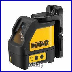 Dewalt DW088K 2 Way Self-Levelling Cross Line Laser Level