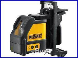 Dewalt DW088K 2 Way Self-Levelling Cross Line Laser With 8m/26ft Measuring Tape