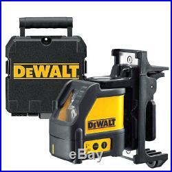Dewalt DW088K 2 Way Self-Levelling Ultra Bright Cross Line Laser DEW088K