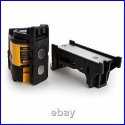 Dewalt DW088K Self-Levelling Cross Line Laser Level + Free 8M/26FT Tape Measures